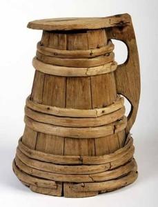 Barbár fa söröskupa